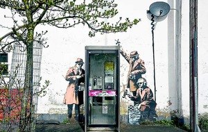 Banksy 'Spy Booth' mural saved