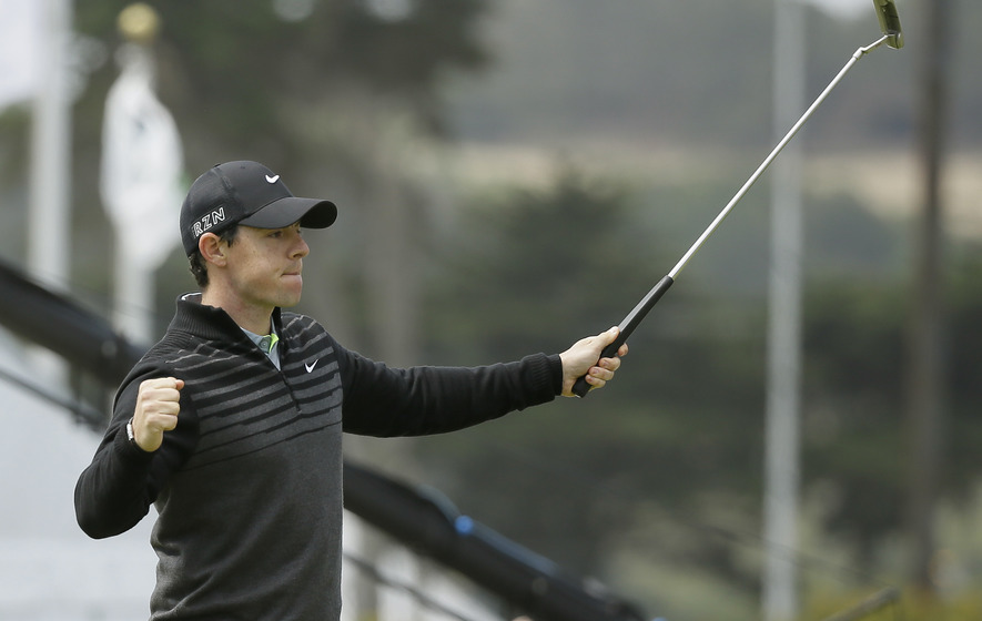 World number one McIlroy looks set to attack greens