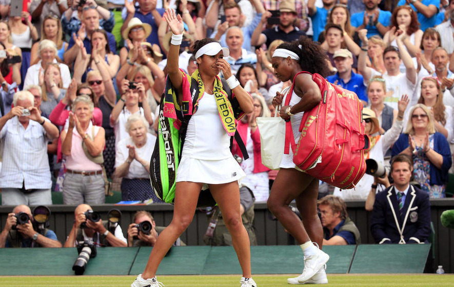 Serena Williams says Heather Watson had her fearing an upset