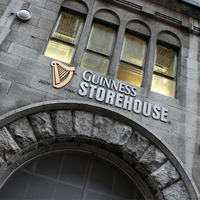 Guinness Storehouse Ireland's top visitor attraction