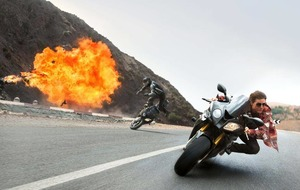 Tom's cruising for a bruising in stunt-tastic sequel