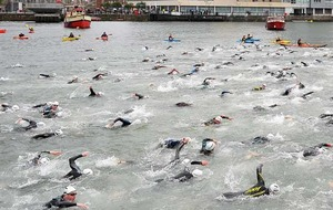 Belfast Titanic Triathlon draws 800 competitors