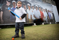 Little golfer Sevie (2) aims to replicate Rory McIlroy's success