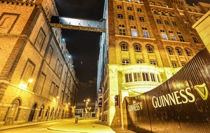 Guinness Storehouse named Europe's top tourist attraction