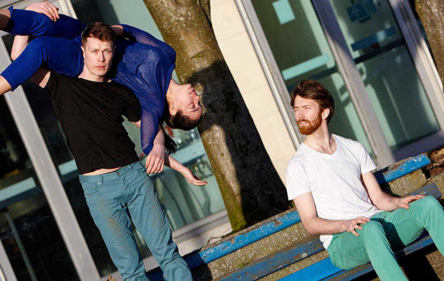 Contemporary dance company perform new show