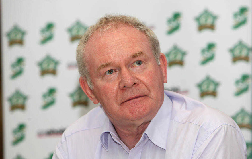 Nama: Martin McGuinness dismisses Cerberus meeting as 'routine'