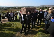 Playwright Brian Friel laid to rest in village which inspired works