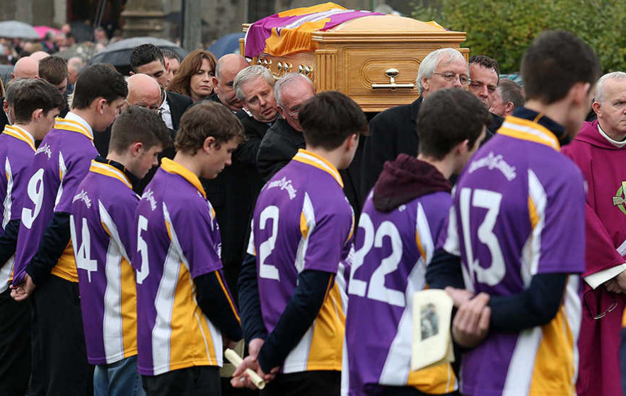 Funeral of Damian McGovern held in Derrygonnelly
