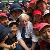 Boris 'sorry' after flooring Japanese schoolboy during Tokyo show game