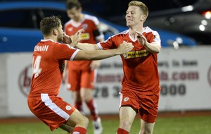 Gerard Lyttle era at Cliftonville gets off to dream start
