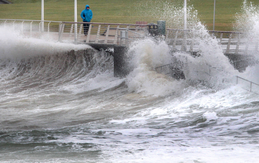 Wind warning as Storm Jake sweeps in
