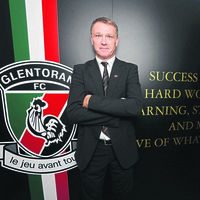 Glentoran: Alan Kernaghan already seeing improvement