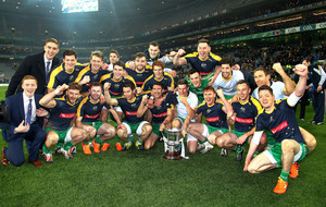 Joe Kernan hails Ireland's International Rules triumph