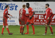 Irish league results: Portadown pile more misery on Linfield
