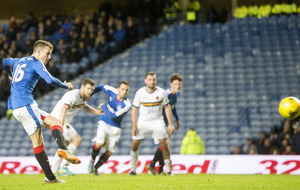 Rangers crush Dumbarton to go three clear of Hibernian at top