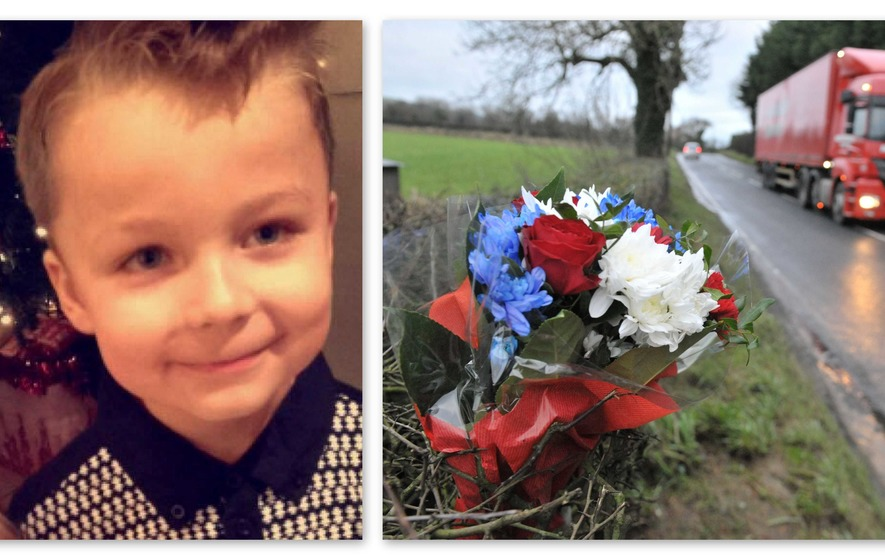 Mum tells of grief as son Jackson Turner (7) dies in Newtownabbey crash