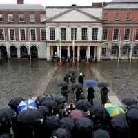 Flag ceremony marks first 1916 centenary commemoration
