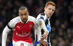 Arsenal can grind out title success - Theo Walcott