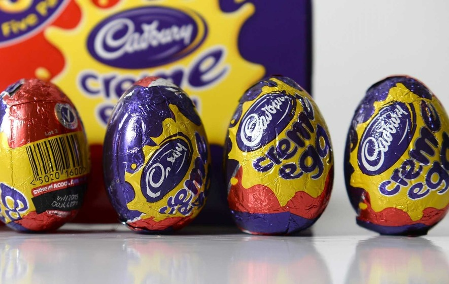 Happy New Easter as shops stock up on Easter chocs