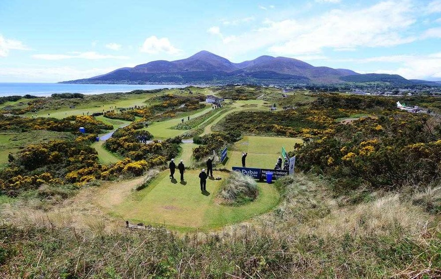 Royal county down named world 39 s greatest golf course the for Royal county down