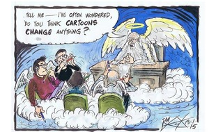 Charlie Hebdo massacre 'an attack on free speech' - Ian Knox