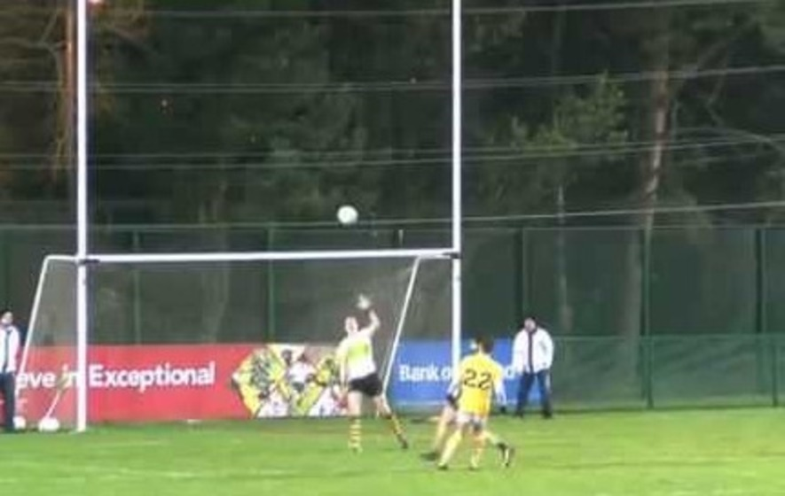 Twitter reacts to Bam Neeson's goal for Antrim