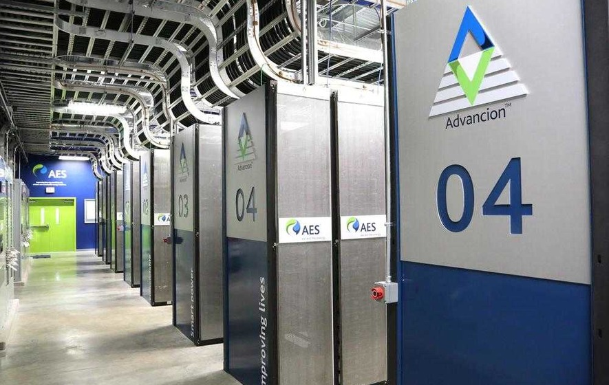 Power firm AES completes storage facility at Kilroot
