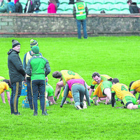 Martin McElhinney on verge of a return to action for Donegal