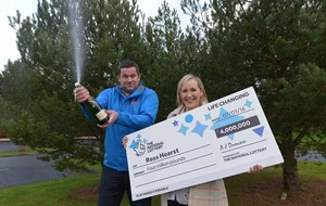 Co Armagh parents-to-be win £4m on scratch card