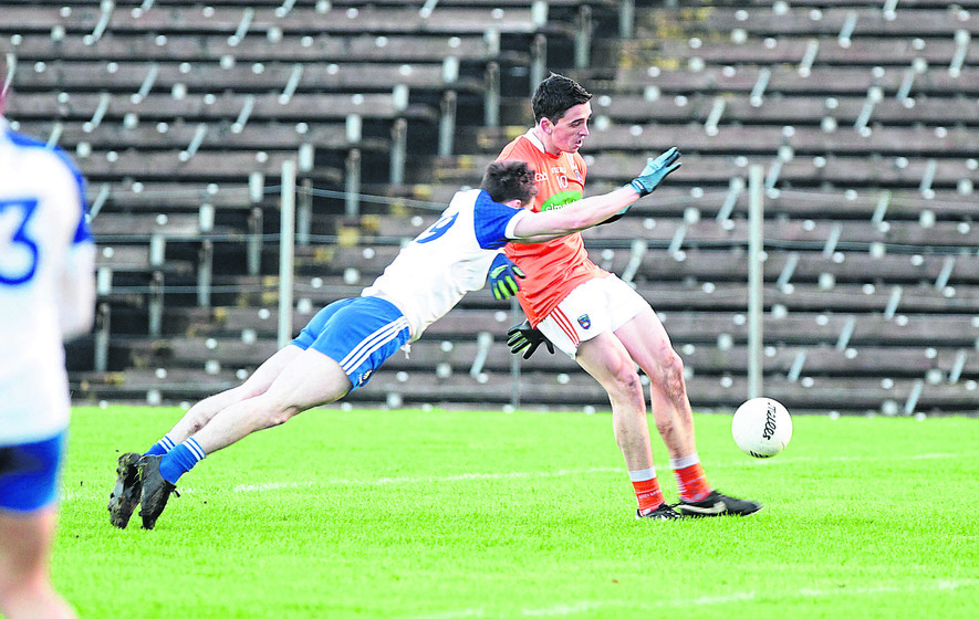 Mckenna Cup Armagh Battle Back Against Monaghan The