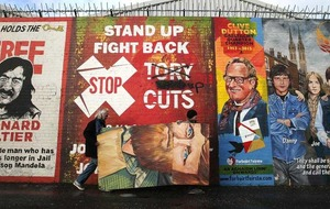 International Peace murals come down to reflect 1916 Rising