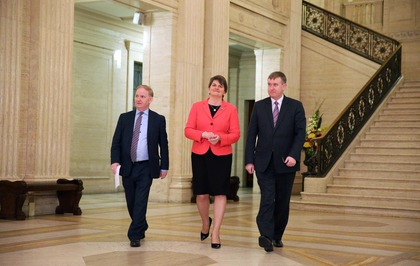Mervyn Storey Takes Over As Finance Minister Replacing New First