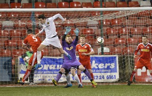 Cliftonville made to work for a point by Carrick Rangers
