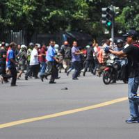 Seven dead after suicide bombs set off in Indonesian capital Jakarta