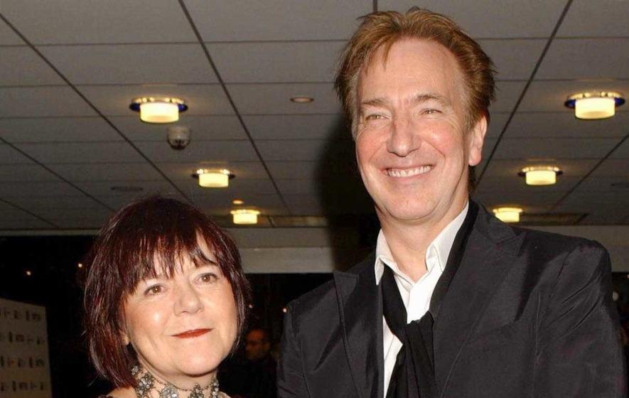 Actor Alan Rickman marries partner of 50 years