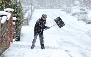 Weather chaos across Northern Ireland