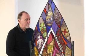 Holocaust memorial artwork created in Belfast