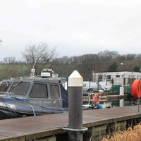 Second bailiff's boat trapped due to floods
