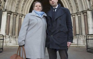 Hetersexual couple who want civil partnership tell court they are being discriminated against