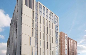 Work to begin on two student apartment blocks in June