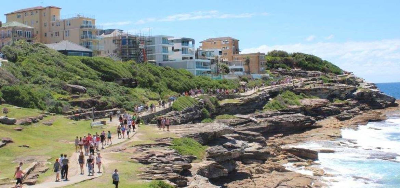 Sydney Beach Walk Raises Over  In Memory Of Cormac Mc Len