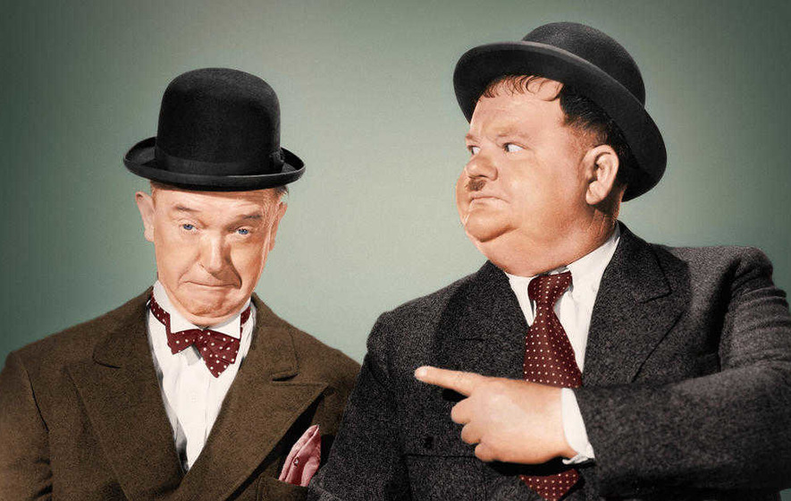 Look forward to: Stan & Ollie starring Steve Coogan and John C Reilly