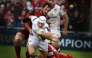 Ulster keep hopes alive with eight-try demolition of Oyonnax
