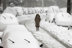 'Snowmageddon' blizzard blankets cities on east coast of US