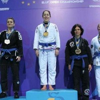 Mighty Mullaghbawn woman Una Quinn wins European jiu jutsu title