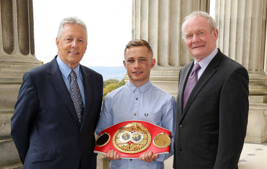 OFMDFM takes a year to answer FOI on Carl Frampton funding