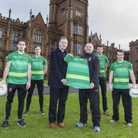 Queen's to promote Cormac Trust on Sigerson Cup jersey