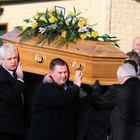 Funeral held for murdered pensioner Eddie Girvan