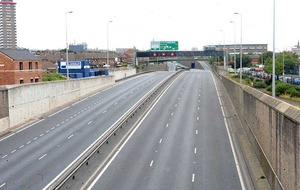 Westlink reopened after serious accident