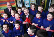 Pupils move into `safe, bright and wonderful' school
